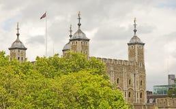 LA TORRE DE LONDRES Fotos de archivo libres de regalías