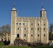 La torre de Londres en Inglaterra foto de archivo libre de regalías