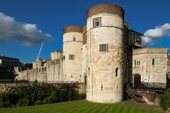 La torre de Londres - parte de los palacios reales históricos, conteniendo las joyas de la corona imagen de archivo libre de regalías