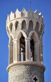 La torre de Piran Fotos de archivo libres de regalías