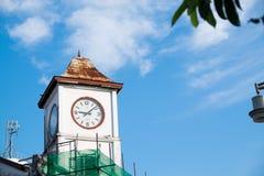 La torre de reloj Imagen de archivo libre de regalías