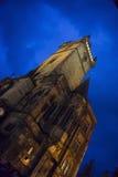 La torre de reloj Foto de archivo libre de regalías