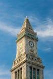 La torre de reloj de aduanas Imagen de archivo libre de regalías