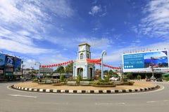 La torre de reloj del círculo de Surin Imagen de archivo