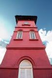La torre de reloj del Stadthuys fotografía de archivo