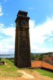 La torre de reloj, fuerte de Galle Imágenes de archivo libres de regalías