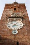 La torre de reloj de Serenissima Venezia Fotografía de archivo