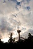 La torre de Skylon en Niagra cae Ontario Fotografía de archivo