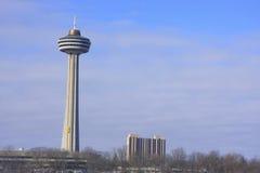 La torre de Skylon, Niagara Falls, Ontario, Canadá Imágenes de archivo libres de regalías
