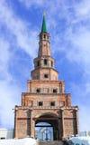 La torre de Soyembika en el Kazán el Kremlin, Tartaristán, Rusia Imagenes de archivo