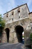 La torre de Taylors, Sighisoara, Rumania Fotografía de archivo