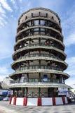 La torre de Woden que se inclina, Teluk Intan, Malasia Imágenes de archivo libres de regalías