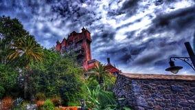 La torre de la zona crepuscular del terror en los estudios del ` s Hollywood de Disney Imagen de archivo libre de regalías