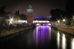 La torre del canal Fotografía de archivo libre de regalías
