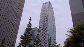 La torre del capullo llamó el modo Gakuen - edificio famoso de Tokio en la ciudad - TOKIO/JAPÓN - 17 de junio de 2018 almacen de video
