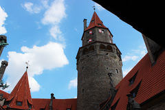 La torre del castello Fotografia Stock Libera da Diritti