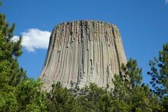 La torre del diablo Imagen de archivo libre de regalías