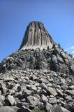 La torre del diavolo Fotografie Stock Libere da Diritti