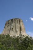 La torre del diavolo del Wyoming Fotografie Stock