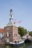 La torre del impuesto en Alkmaar, los Países Bajos Imágenes de archivo libres de regalías