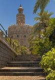 La Torre del Oro Imagen de archivo libre de regalías