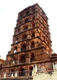 La torre del palazzo di maratha del thanjavur Immagine Stock Libera da Diritti
