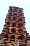 La torre del palazzo di maratha del thanjavur Fotografie Stock Libere da Diritti