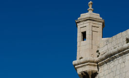 La torre del puesto de observación Fotografía de archivo
