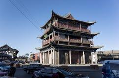 La torre del tambor de Datong Imagenes de archivo