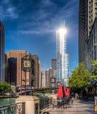 La torre del triunfo fotografía de archivo libre de regalías