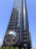 La torre del triunfo en Columbus Circle, Manhattan Imagenes de archivo