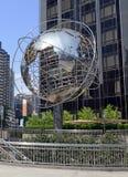 La torre del triunfo en Columbus Circle, Manhattan Fotos de archivo libres de regalías