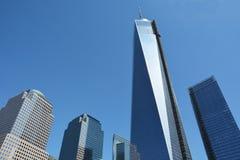 La torre del World Trade Center Immagini Stock Libere da Diritti