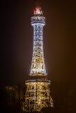 La torre dell'allerta di PetÅ™Ãn Immagine Stock