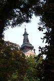 La torre della città Immagini Stock Libere da Diritti