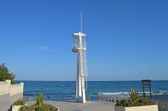 La torre della pattuglia dei bagnini Fotografia Stock