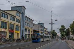 La torre della TV di Brema, Germania fotografia stock