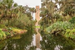 La torre di canto in lago Galles, Florida fotografie stock libere da diritti