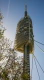 La torre di Collserola Immagine Stock