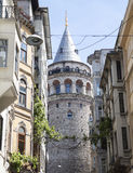 La torre di Galata Immagine Stock