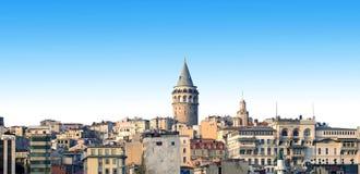 La torre di Galata Fotografia Stock