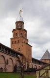 La torre di Kokuy, Veliky Novgorod Immagini Stock Libere da Diritti