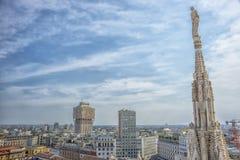 La torre di Milan Velasca Fotografia Stock Libera da Diritti