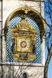 La torre di orologio (giro de l'Horloge), La Conciergerie, Parigi Fotografie Stock
