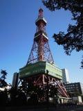La torre di Sapporo TV a Sapporo, Giappone Fotografie Stock