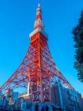 La torre di Tokyo è punto di riferimento di Tokyo immagine stock libera da diritti