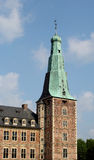 La torre di vecchio castello dell'acqua di Raesfeld in Germania Immagini Stock