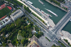 La Torre Eiffel Immagini Stock