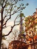 La Torre Eiffel in autunno Fotografia Stock
