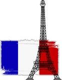 La torre Eiffel del vector Imagenes de archivo